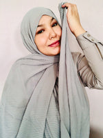 GREY HIJAB - Hijabs Laden