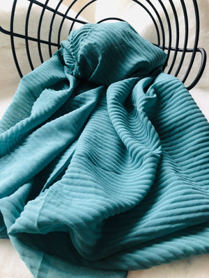 TEAL HIJAB - Hijabs Laden