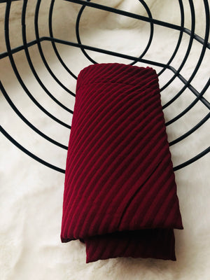 BURGUNDY HIJAB - Hijabs Laden