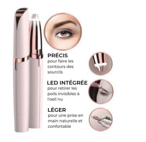 Eyebrow and Face Epilator