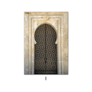Morocco beige poster