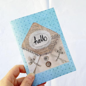 Small Notebook - Hello Envelope Design