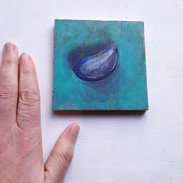 Mussel Shell Study - Original Painting
