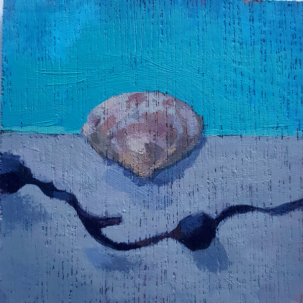 Shell and Seaweed Study -  Small Original Painting
