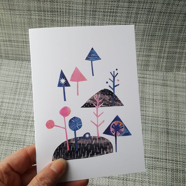 Whimsical Woods Greeting Card