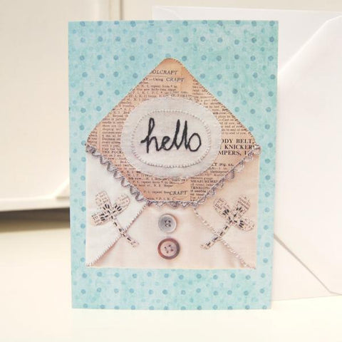 Greetings Card - Hello