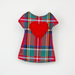 Brooch - Dress - Tartan