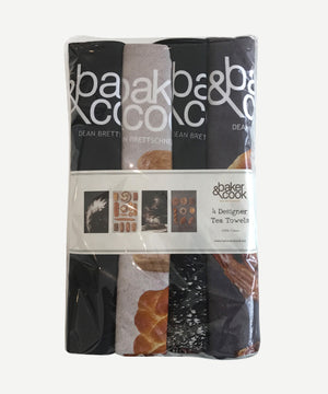 Designer Tea Towels - 4 pack