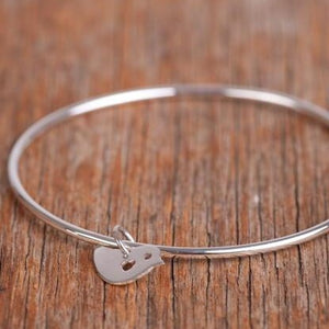 Bird Bangle - small