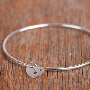 Bird Bangle - large