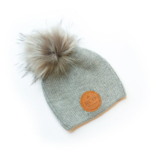 Children's Beanie Grey (0-5 yrs)
