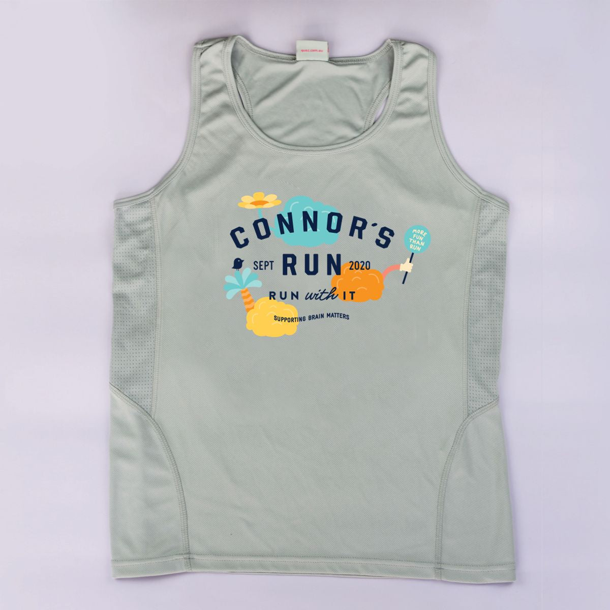 2020 Connor's Run singlet