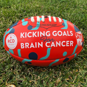 Kicking Goals For Brain Cancer mini football