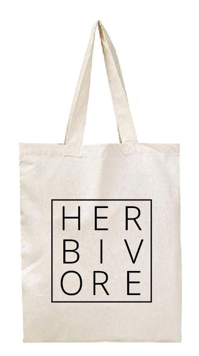Cotton totebag - Herbivore