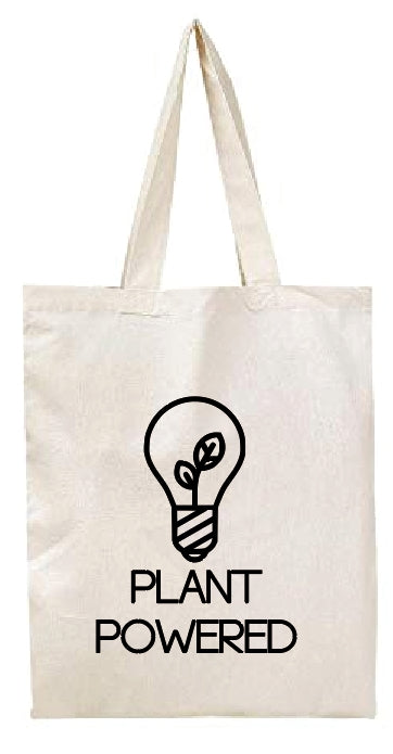 Cotton totebag - Plant powered