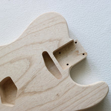 Load image into Gallery viewer, Tele-style body, 2 Piece Swamp Ash, Standard pickup routing - GreyTempest CustomShop