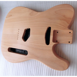 Tele-style body, 2 Piece Alder, Standard pickup routing - GreyTempest CustomShop