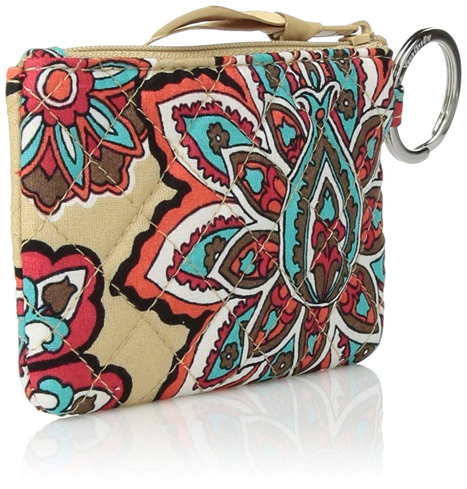 Vera Bradley Women's Iconic Zip ID Case, Signature Cotton