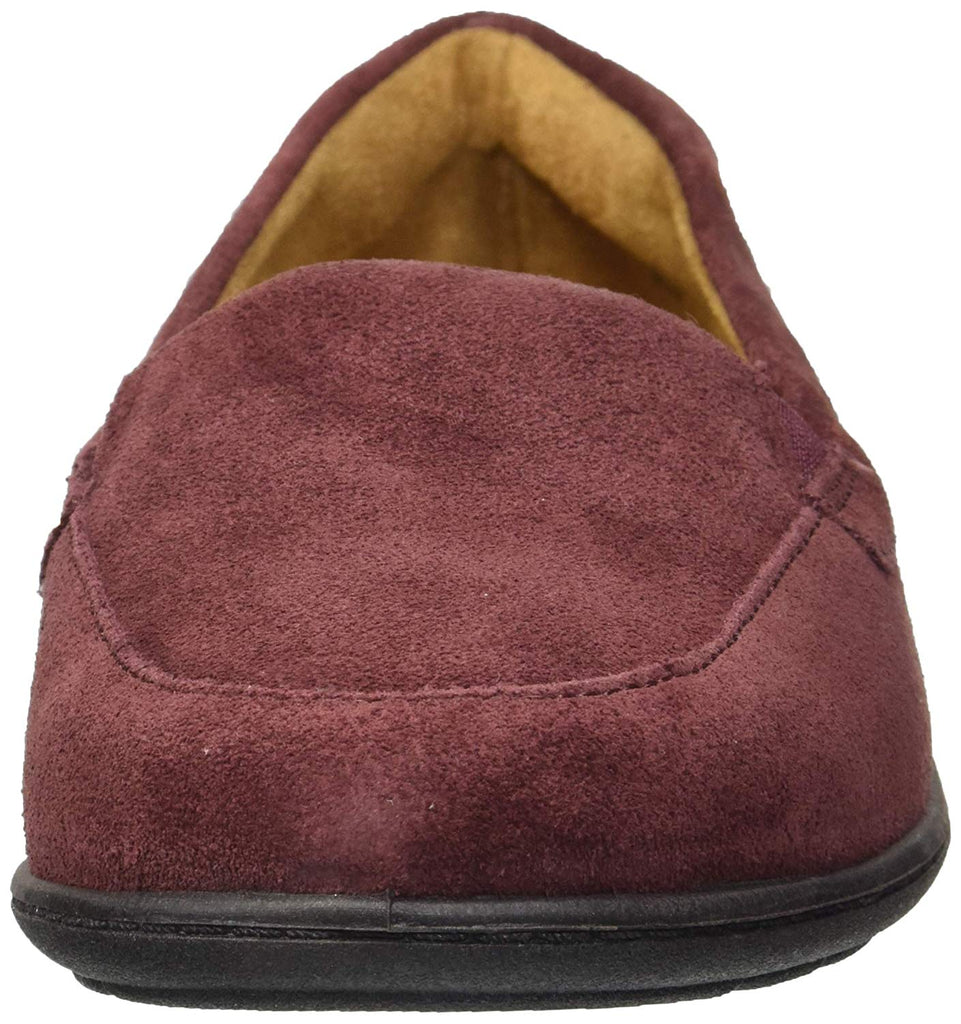 SOUL Naturalizer Women's Kacy Loafer, Wine Suede, 8 W US
