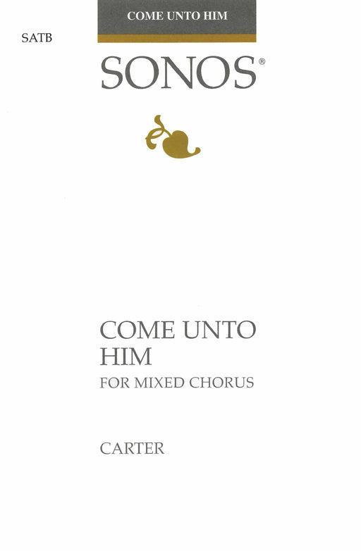 Come Unto Him - SATB, Piano & C Instrument | Sheet Music | Jackman Music