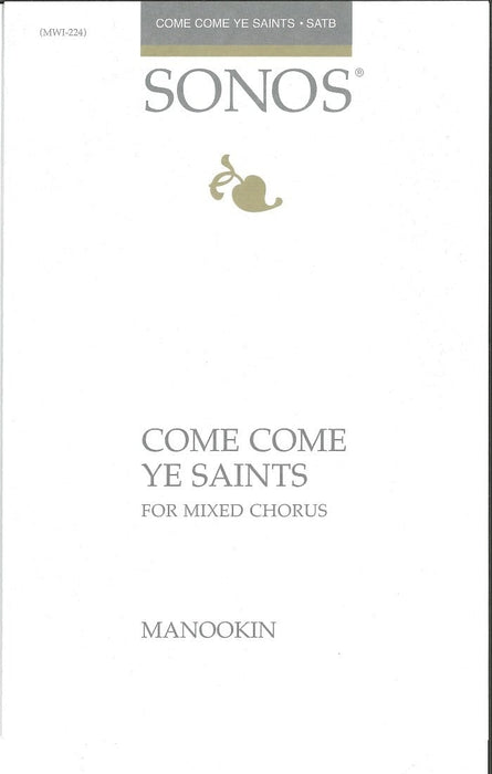 Come Come Ye Saints - SSAATTBB | Sheet Music | Jackman Music