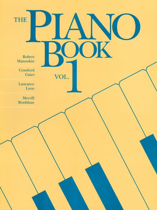 The Piano Book - Vol. 1 - Piano Solos | Sheet Music | Jackman Music
