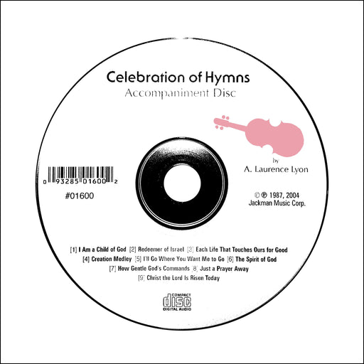 Celebration of Hymns - CD accompaniment | Sheet Music | Jackman Music