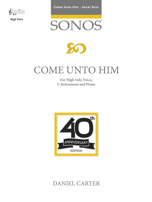 Come unto Him - HIGH Vocal Solo | Sheet Music | Jackman Music