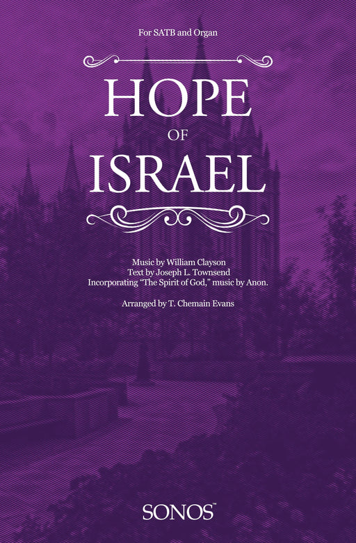 Hope of Israel - SATB | Sheet Music | Jackman Music