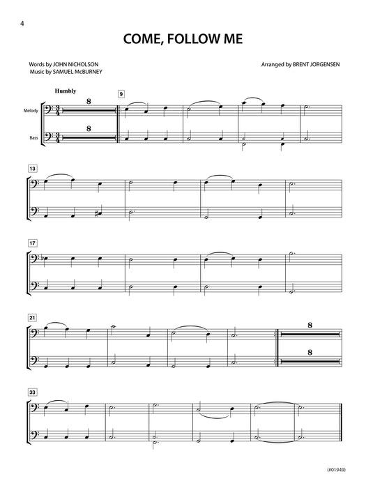Hymn Alongs Vol 1 Baritone Bc | Sheet Music | Jackman Music