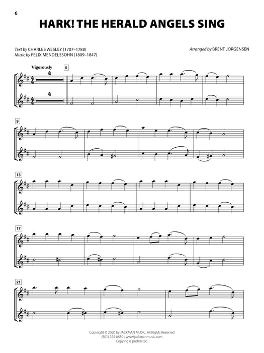 Christmas HYMN-ALONGS - Eb ALTO SAXOPHONE