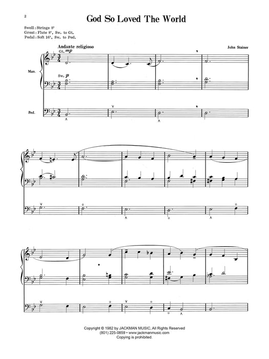 By Special Request - Organ Book (Digital Download) | Sheet Music | Jackman Music