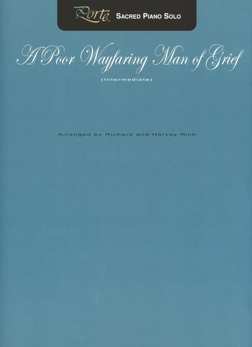 A Poor Wayfaring Man of Grief - Piano Solo | Sheet Music | Jackman Music