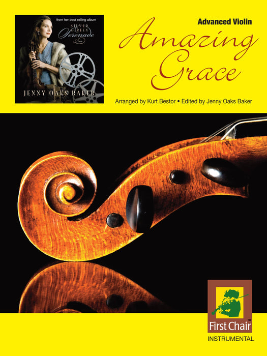 Amazing Grace - Advanced Violin and Piano