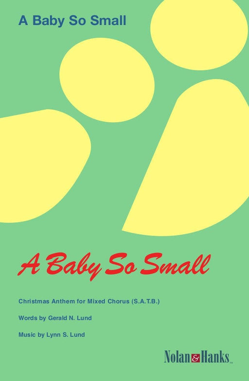 A Baby So Small - SATB | Sheet Music | Jackman Music