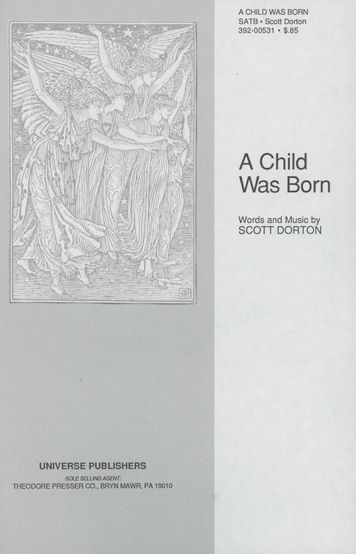 A Child Was Born - SATB | Sheet Music | Jackman Music