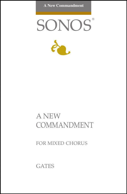 A New Commandment I Give Unto You - SATB | Sheet Music | Jackman Music