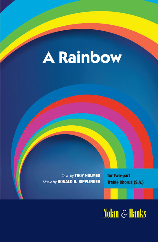 A Rainbow - 2 part (SA) (Digital Download)