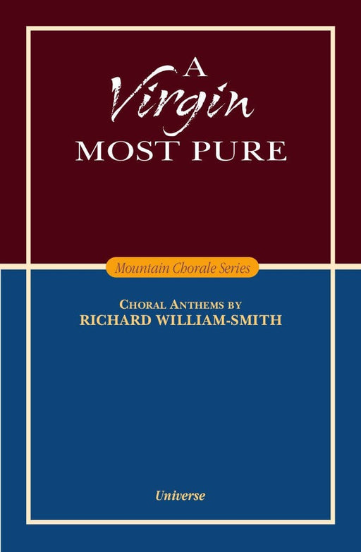 A Virgin Most Pure - SATB