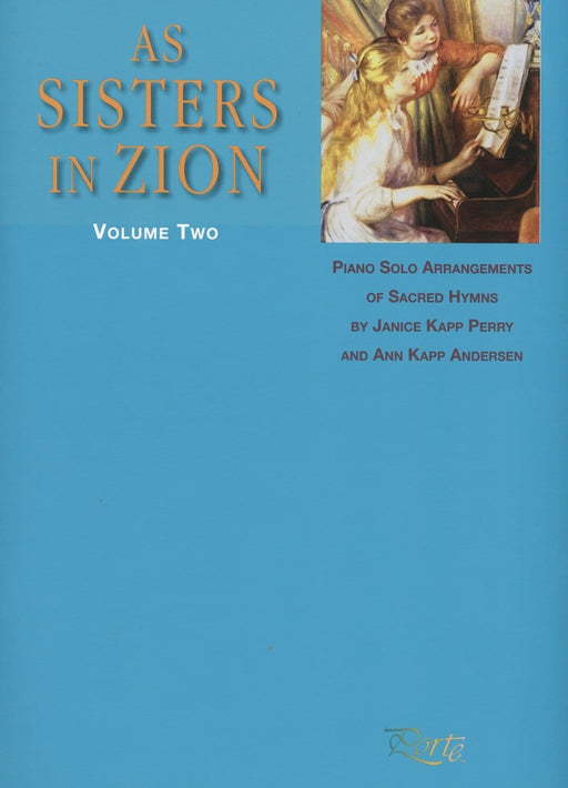 As Sisters in Zion - Vol. 2 - Piano Solos | Sheet Music | Jackman Music