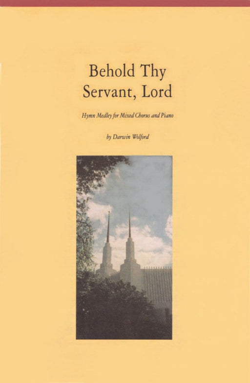 Behold Thy Servant, Lord - SATB (Digital Download)