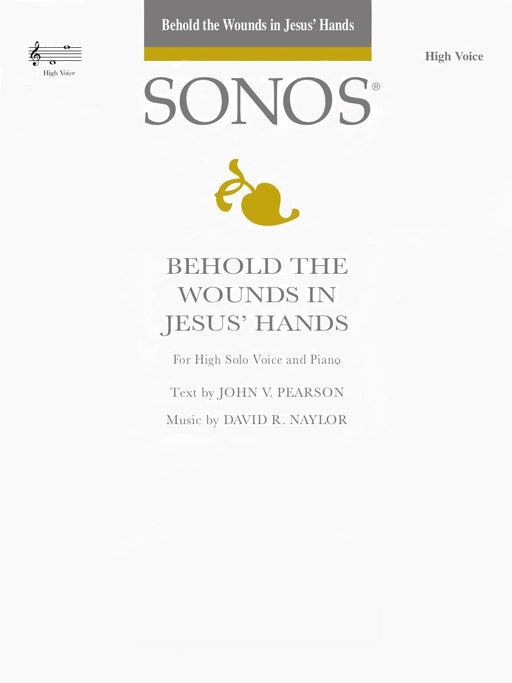 Behold the Wounds in Jesus' Hands - Vocal Solo - High | Sheet Music | Jackman Music