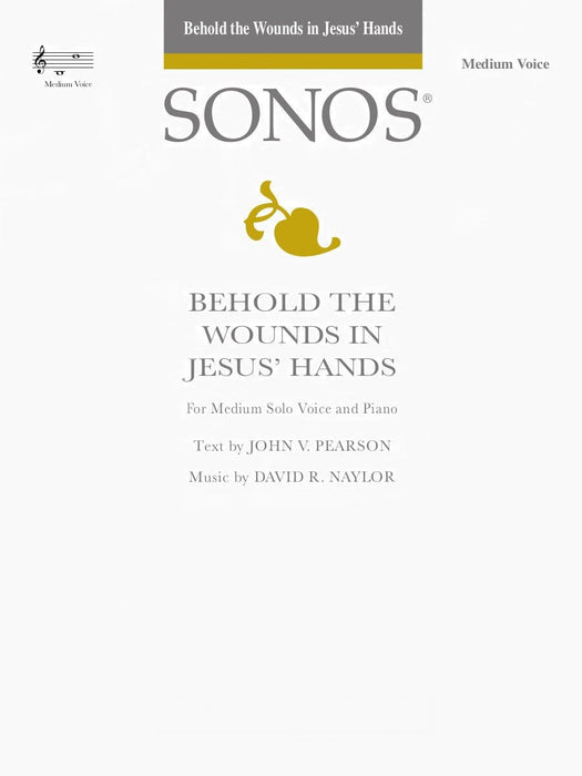Behold the Wounds in Jesus' Hands - Vocal Solo - Medium | Sheet Music | Jackman Music