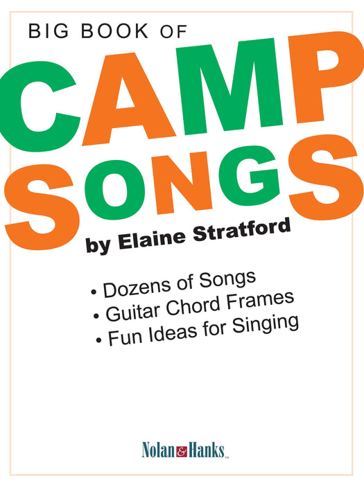 Big Book of Camp Songs - guitar & voice (Digital Download) | Sheet Music | Jackman Music