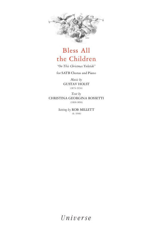 Bless All the Children - SATB