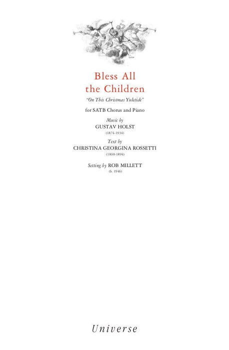 Bless All the Children - SATB | Sheet Music | Jackman Music
