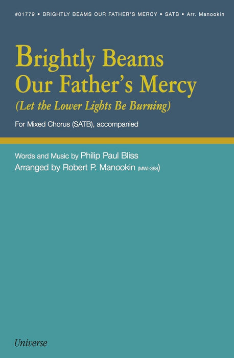 Brightly Beams Our Father's Mercy  (Let the Lower Lights Be Burning) - SATB