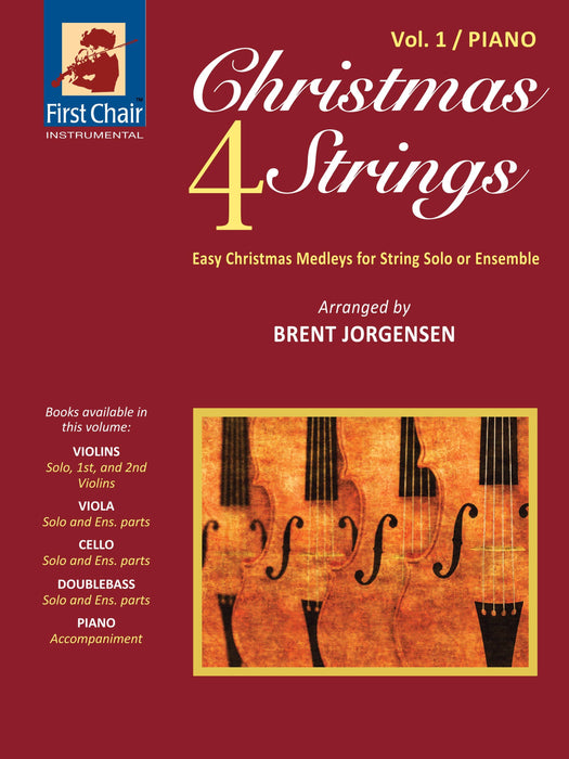 Christmas 4 Strings - Vol.1 - Piano Accompaniment