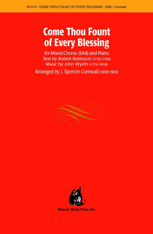 Come Thou Fount of Every Blessing - SAB | Sheet Music | Jackman Music