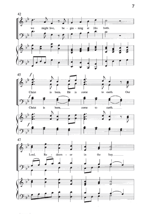 Christ Is Born In Bethlehem Satb | Sheet Music | Jackman Music